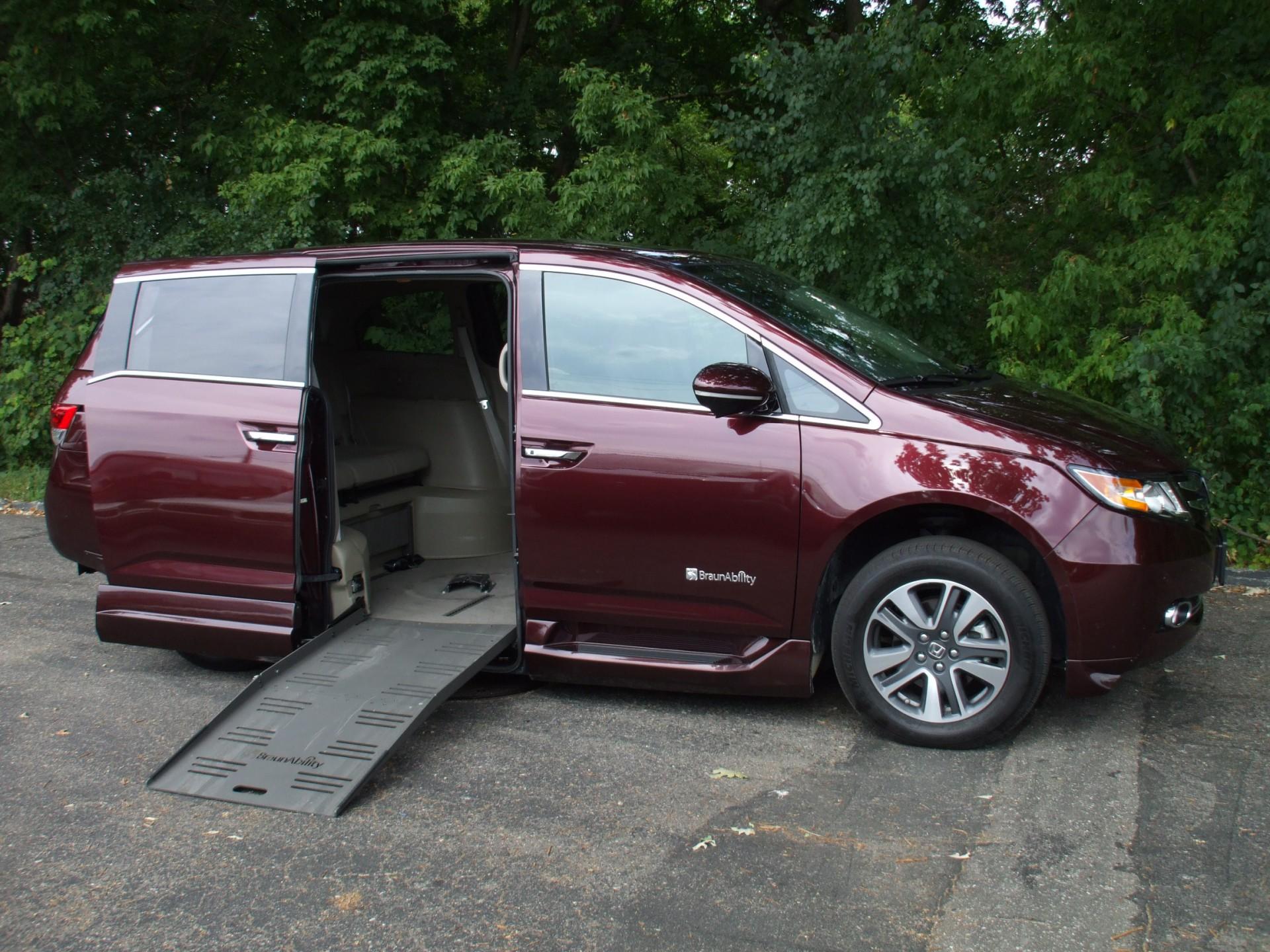 2015 honda odyssey stock 15001 wheelchair van for sale gresham driving aids. Black Bedroom Furniture Sets. Home Design Ideas