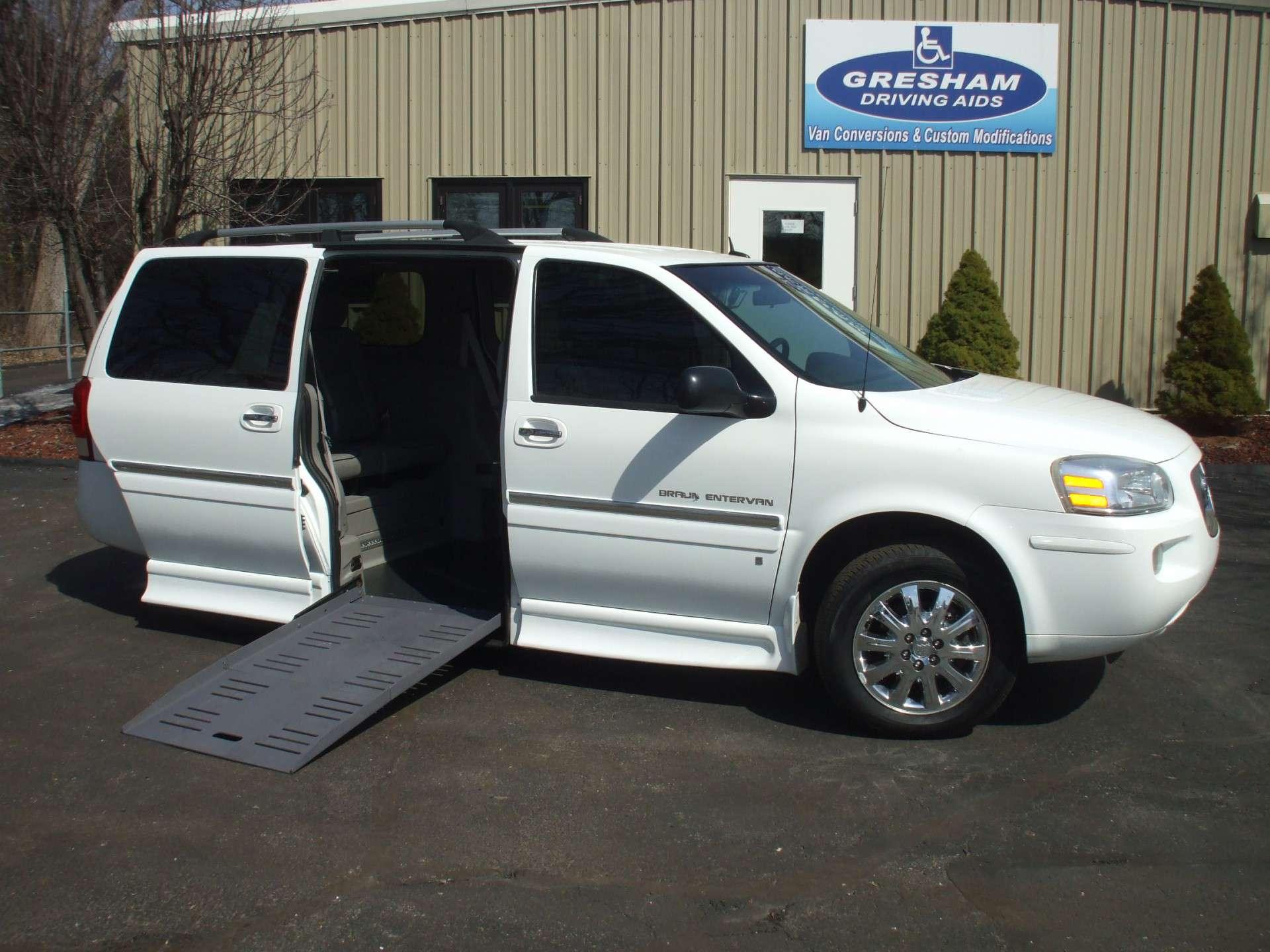 2007 Buick Terraza Stock W8718 Wheelchair Van For Sale