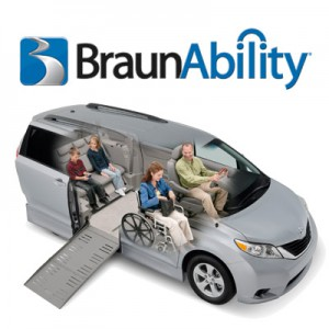 BraunAbility Wheelchair Van Conversions