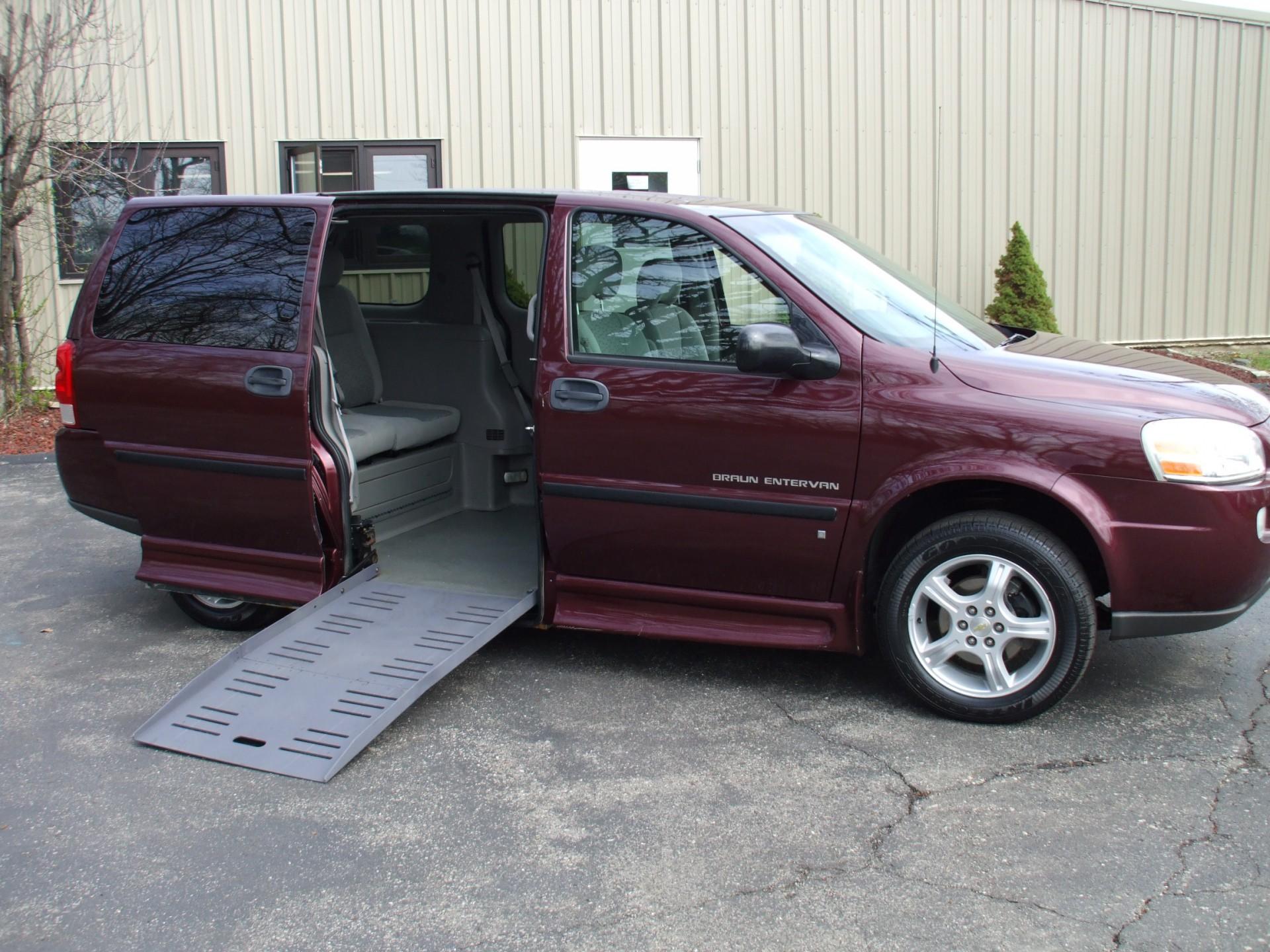 2006 Chevrolet Uplander Stock 242460 Wheelchair Van For Sale Gresham Driving Aids