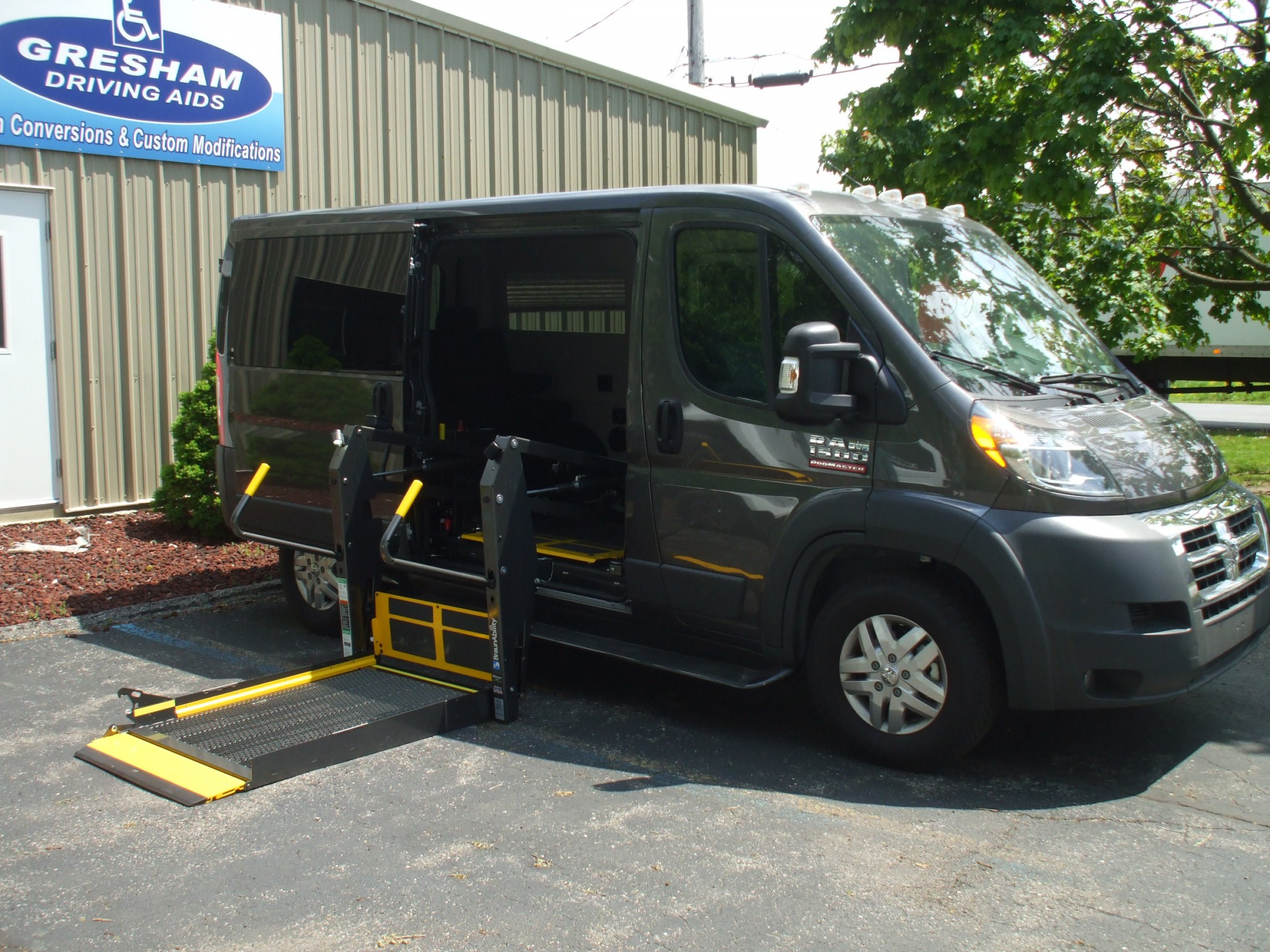 Wheelchair Accessible Vans >> Ram Promaster Promaster 1500 Stock Built To Client S