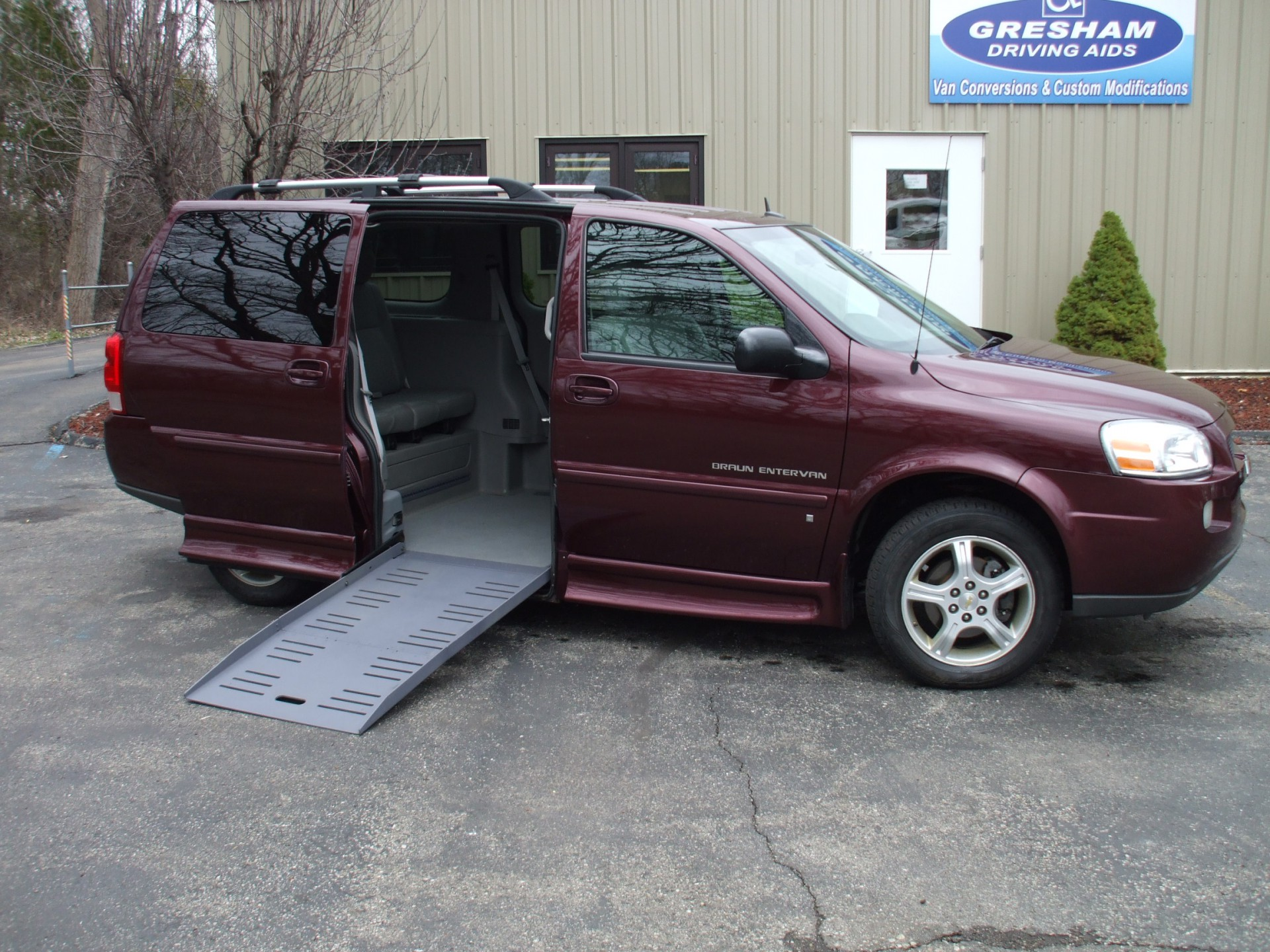 2008 Chevrolet Uplander Stock On Hold Wheelchair