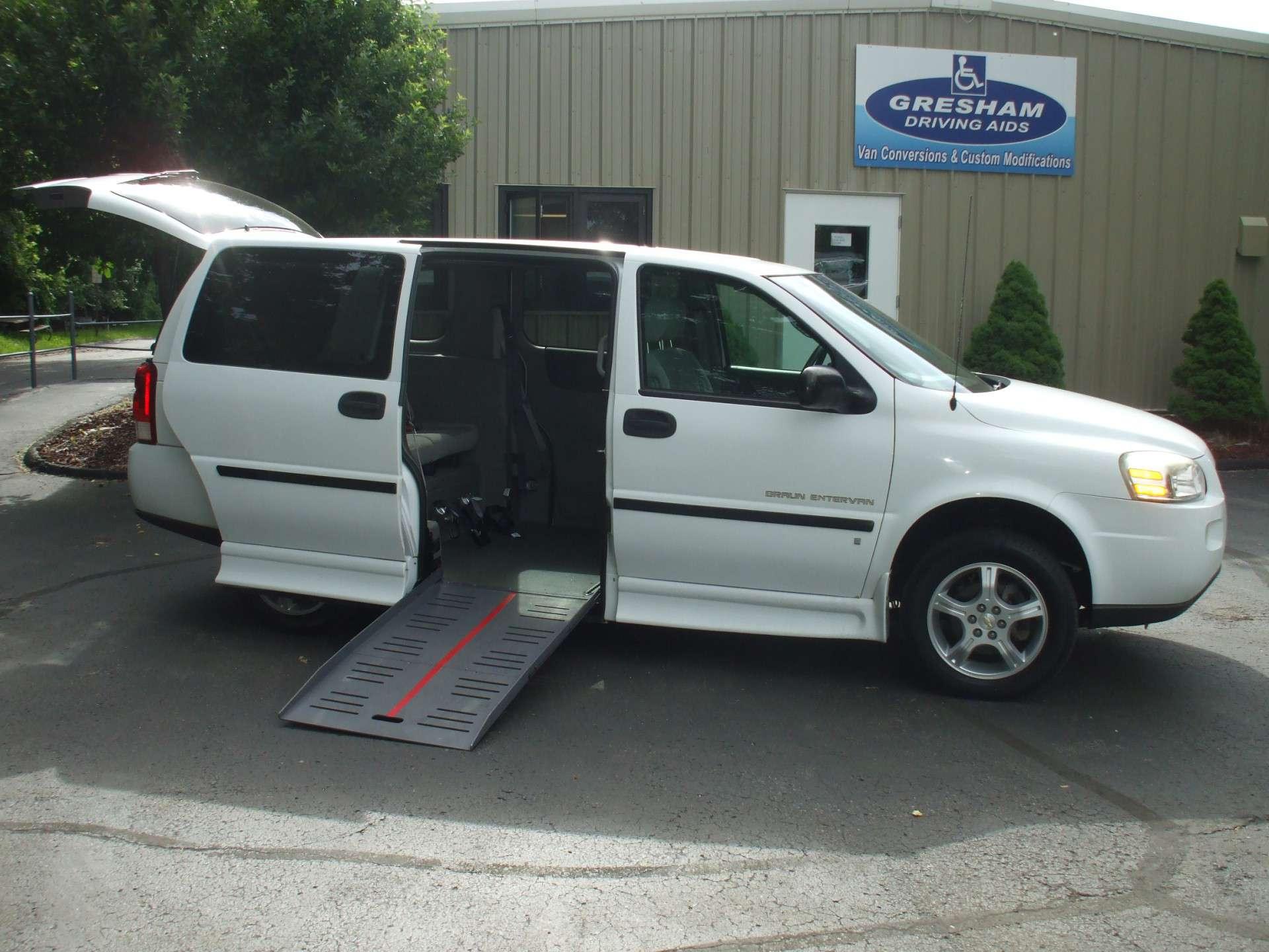 2008 Chevrolet Uplander Stock W3182 Wheelchair Van For Sale