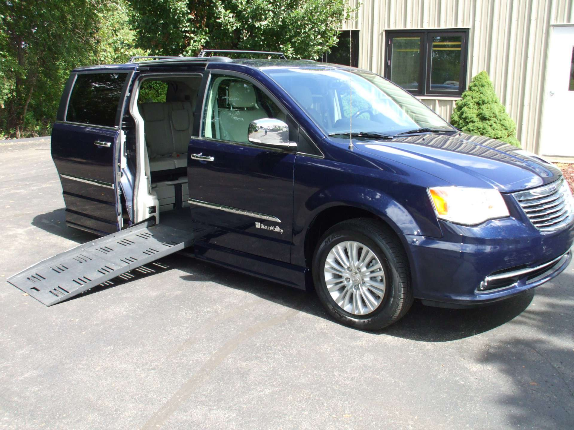2013 Chrysler Town and Country | Stock: W7628 | Wheelchair Van For