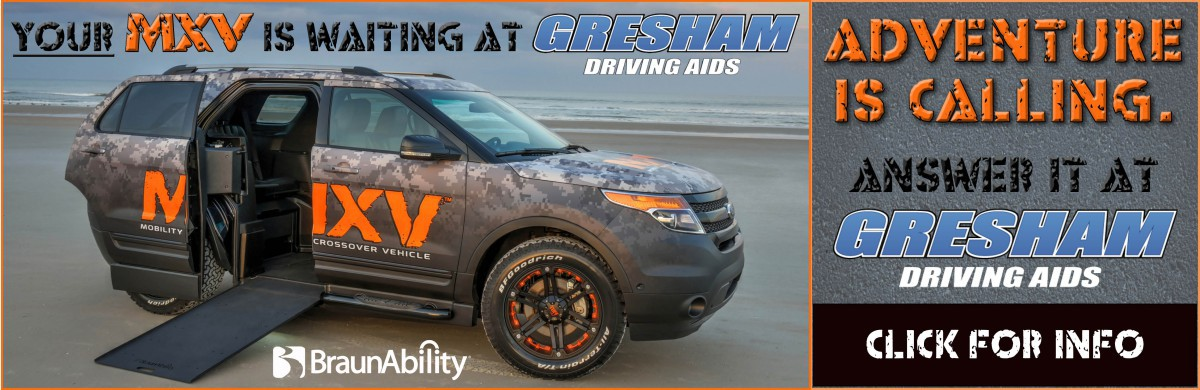 The Wheelchair Accessible Braunability MXV Ford Explorer Conversion from Gresham Driving Aids