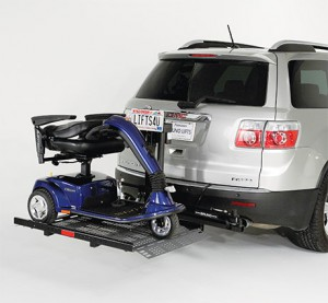Bruno Out-Sider Scooter Lift (Wheelchair or Scooter)
